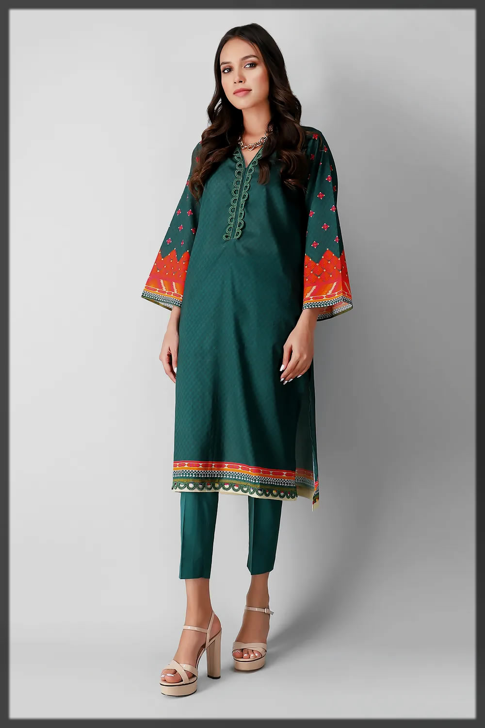 classy and jazzier khaadi eid collection