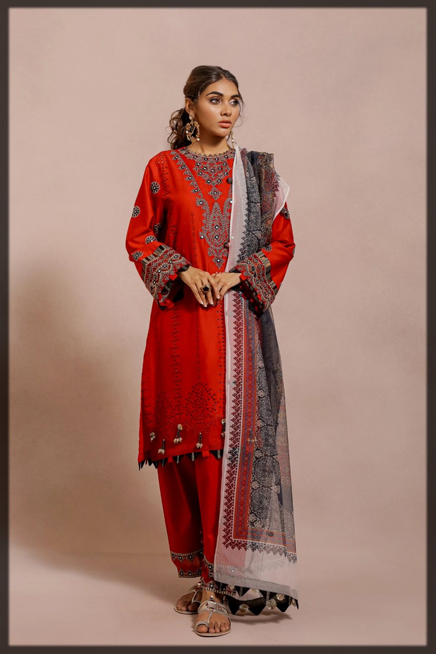 dazzling Ethnic by Outfitters eid collection for women