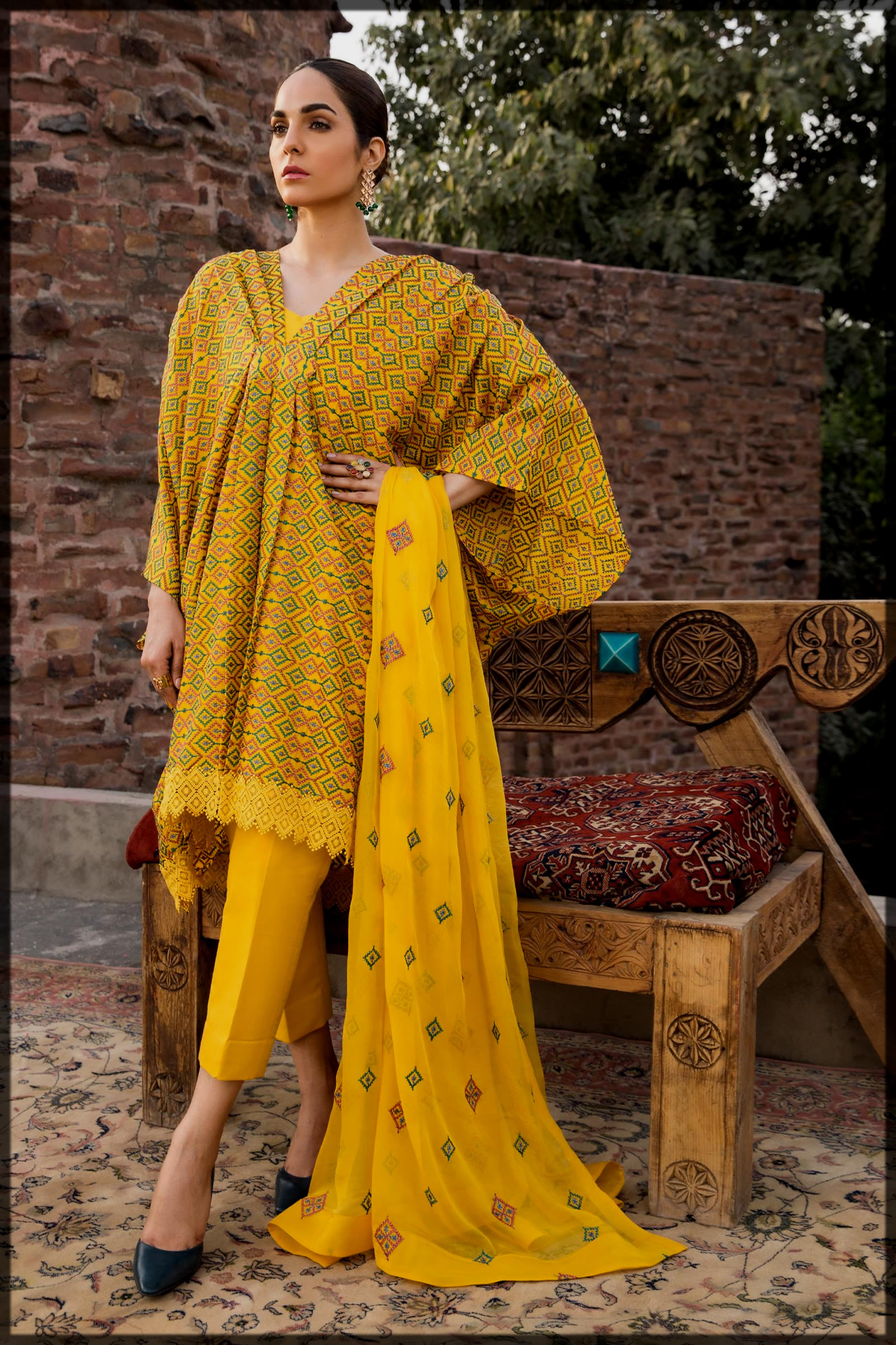 dazzling bareeze eid collection for women and young girls