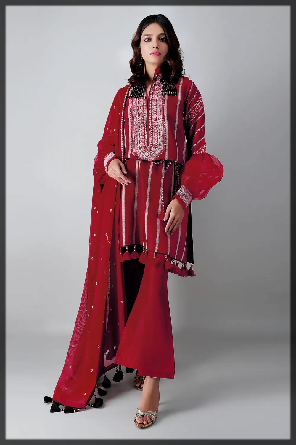dazzling khaadi eid collection for women