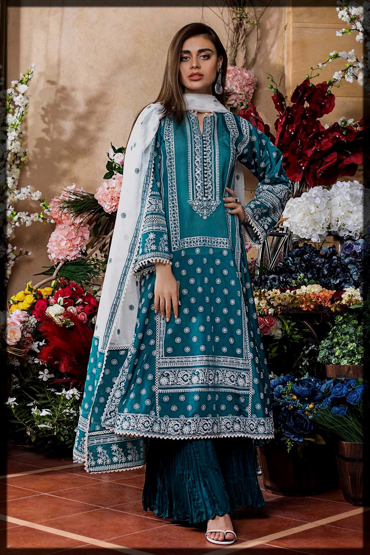 eid summer suit for ladies