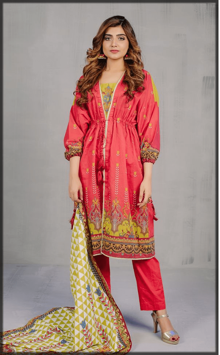 impressive 2PC eid dress for youngest