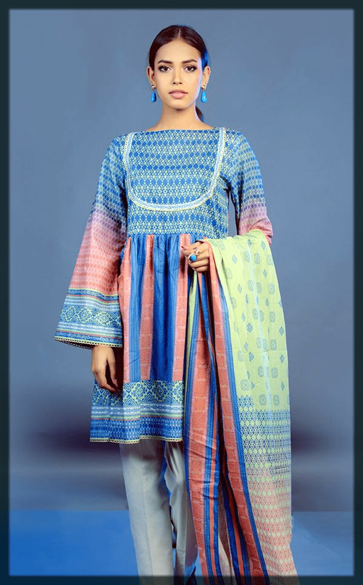 impressive 3PC eid dress for youngest