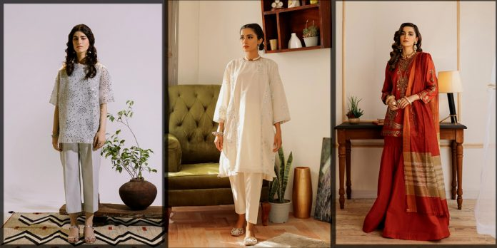latest and classy Ethnic By Outfitters Eid Collection