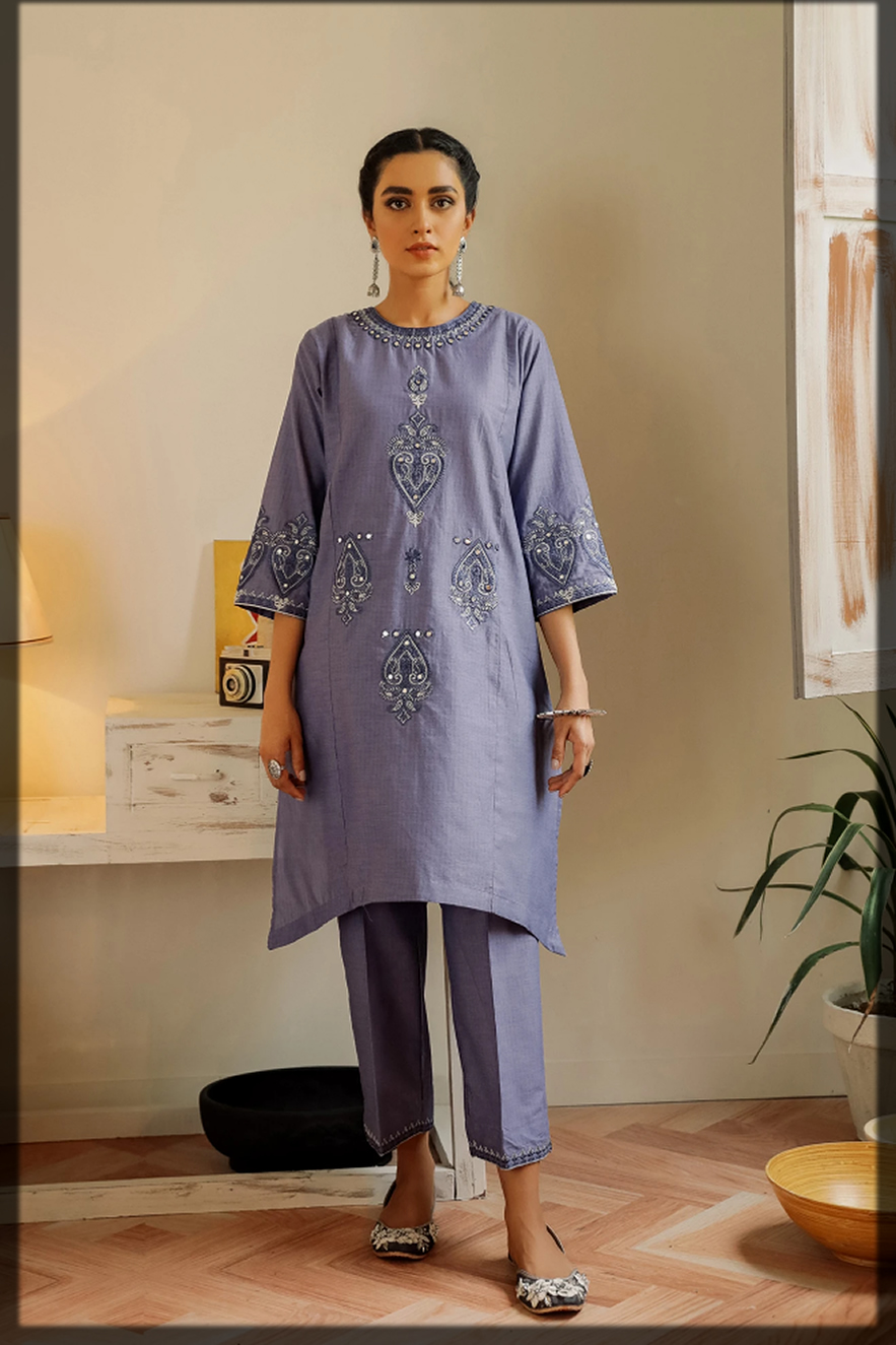 latest ethnic by outfitters summer eid dress