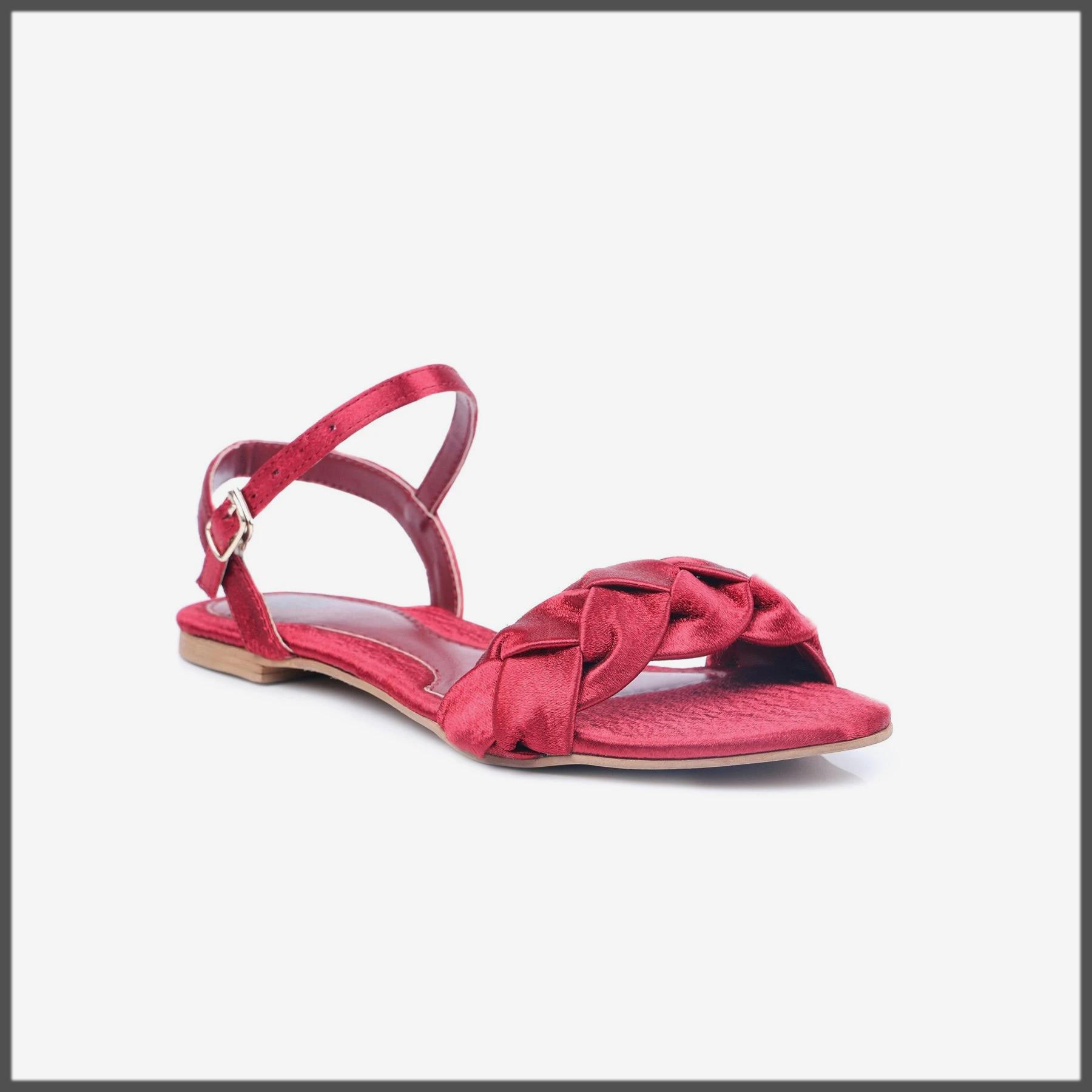 maroon summer eid footwear