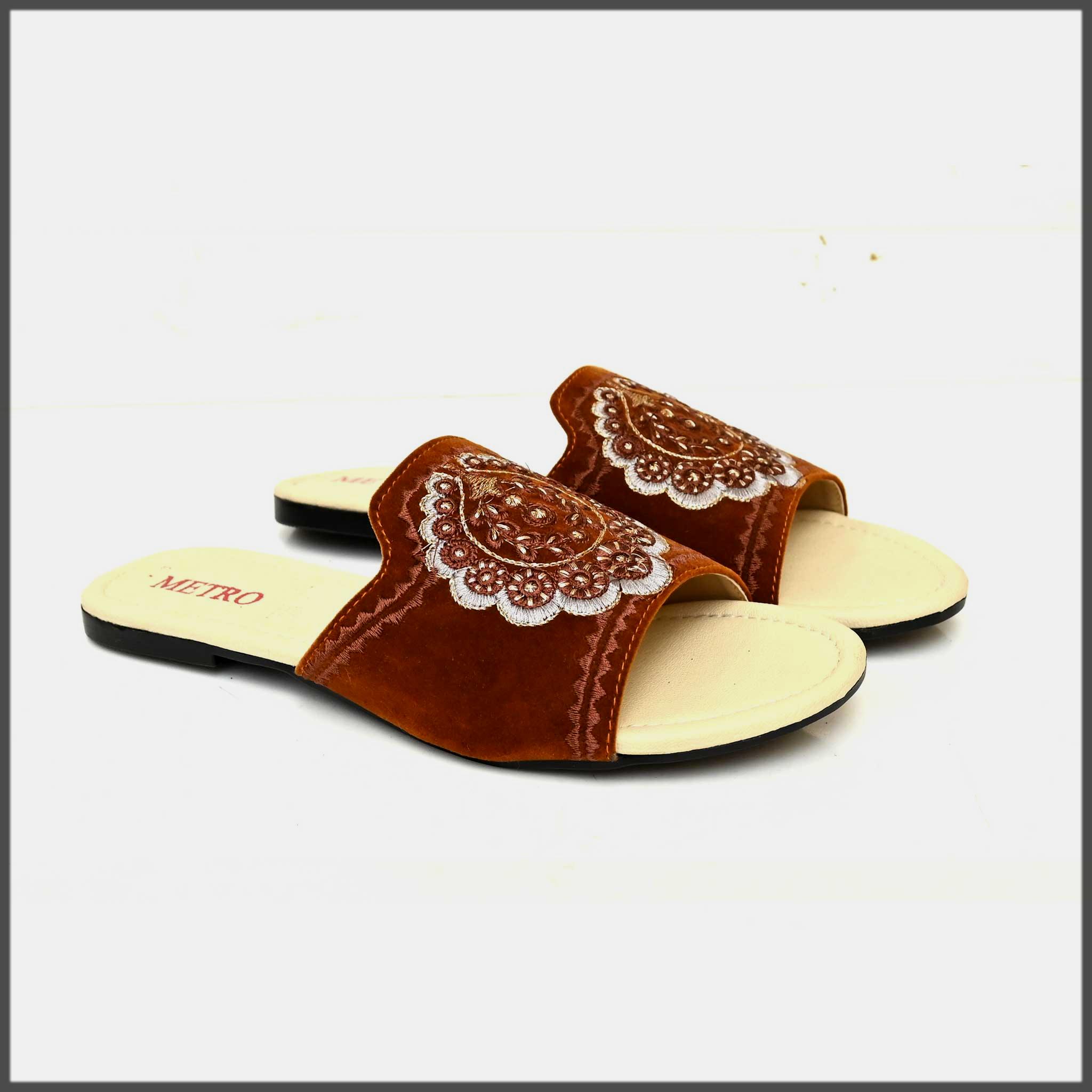 metro summer eid footwear for girls