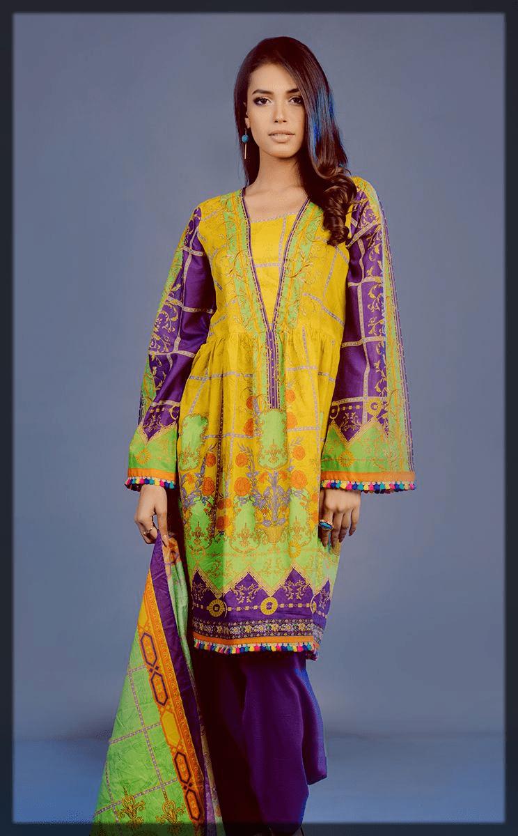 ravishing eid dress by zellbury