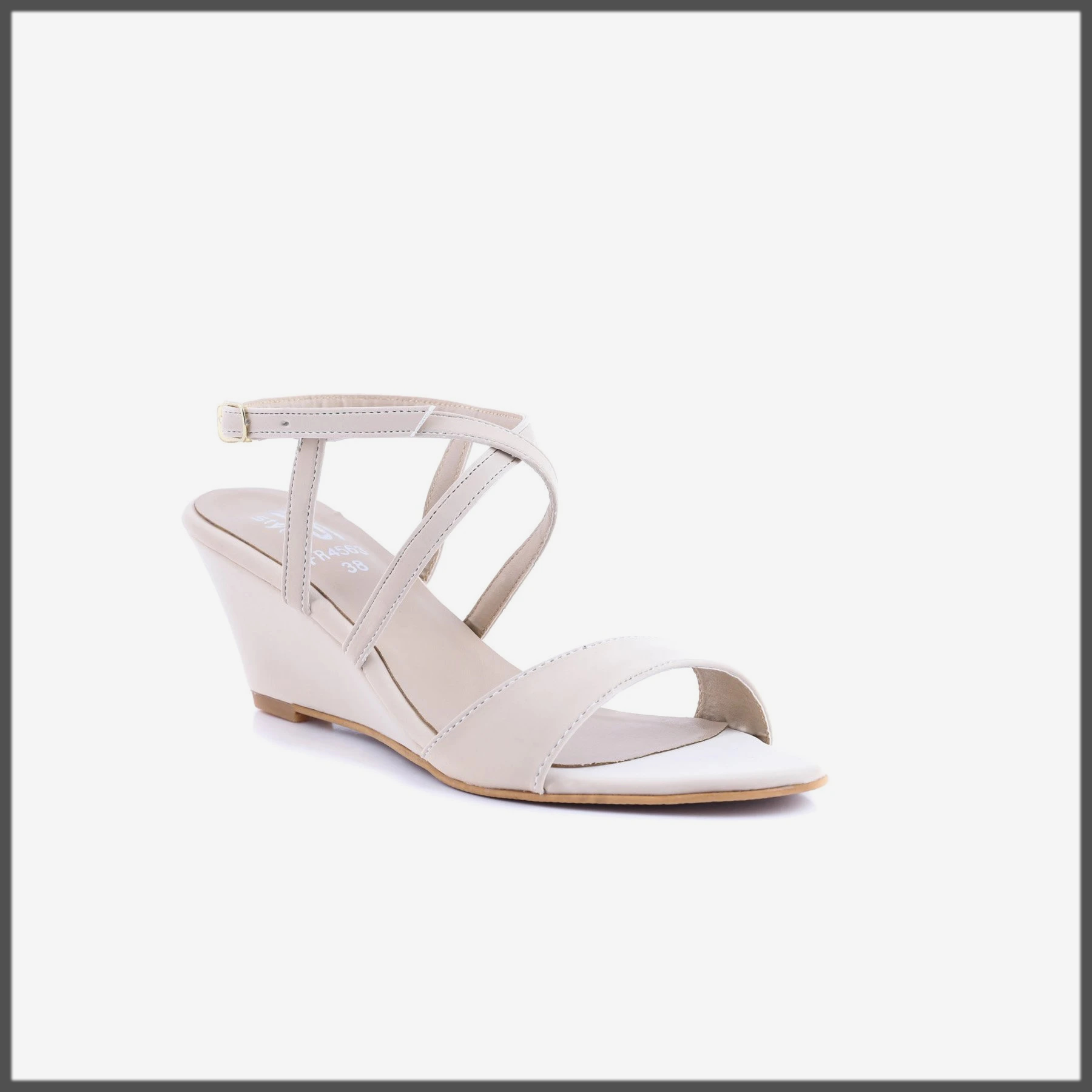 white Color Formal Sandal for women