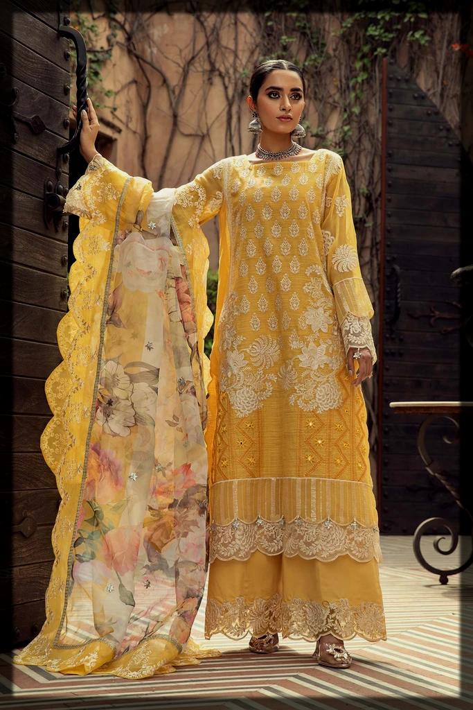 yellow Charizma Eid Collection