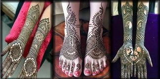 30 Superb Black Mehndi Designs for Hands and Feet with Pictures