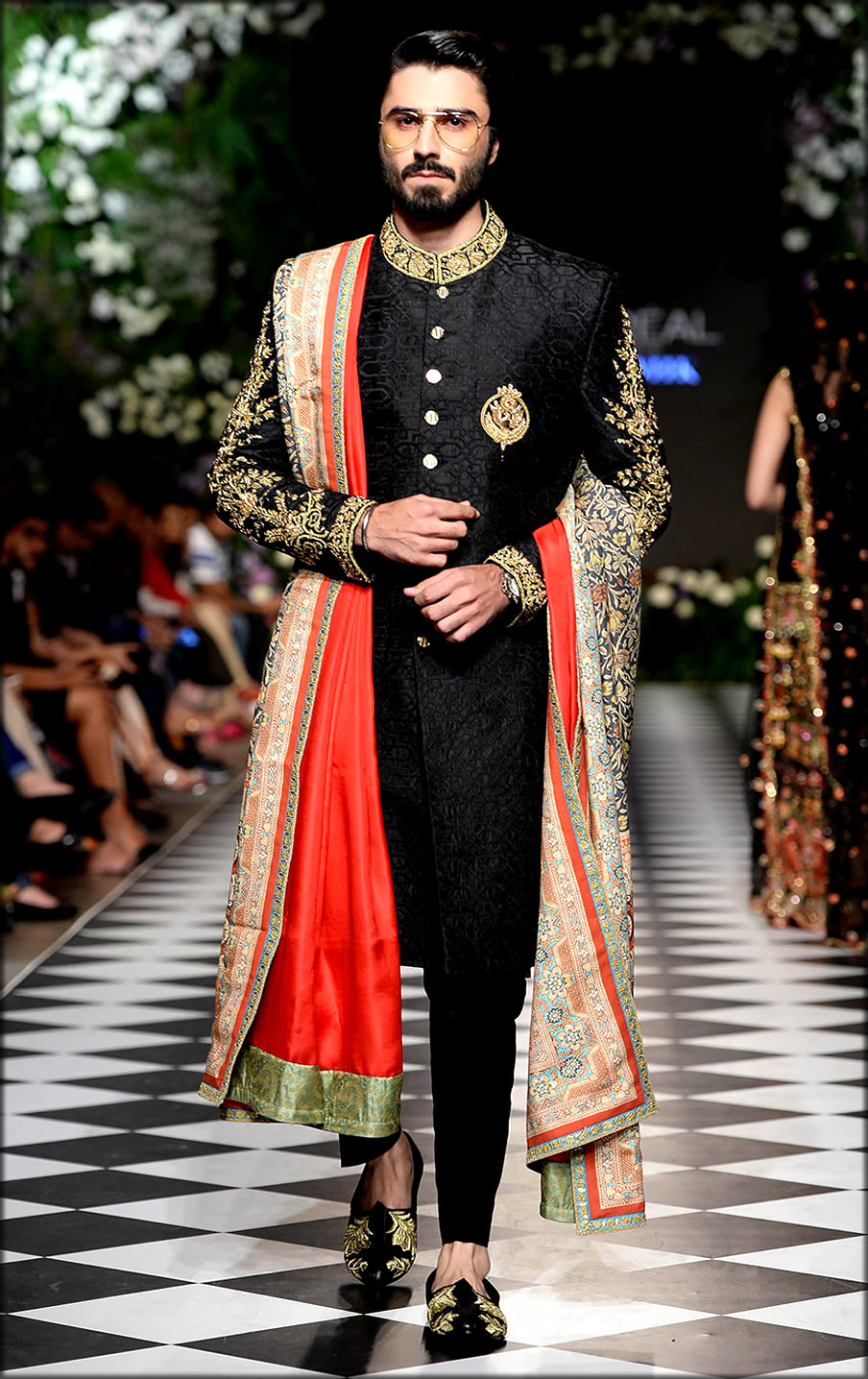 Black Pakistani Wedding dresses For Men