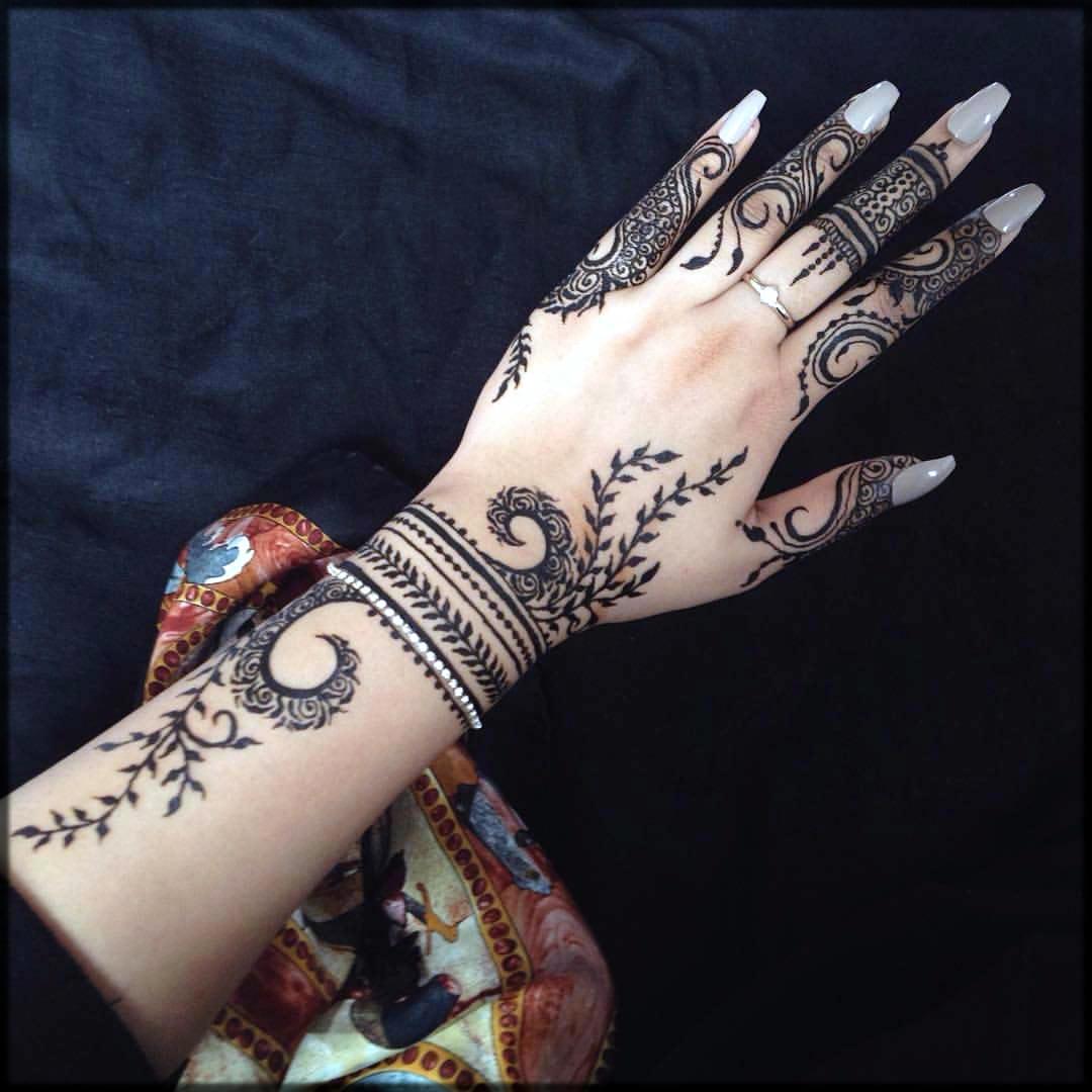 Unique patterns for hand
