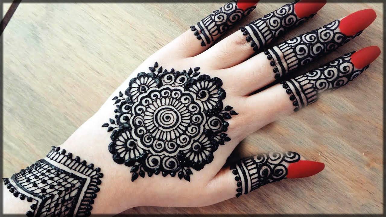 unique henna patterns