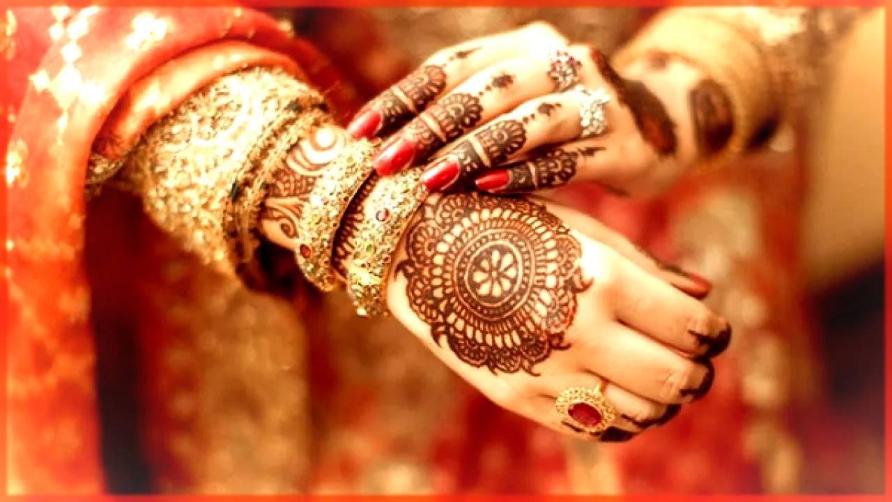 Bridal Tiki Floral Mehndi Design