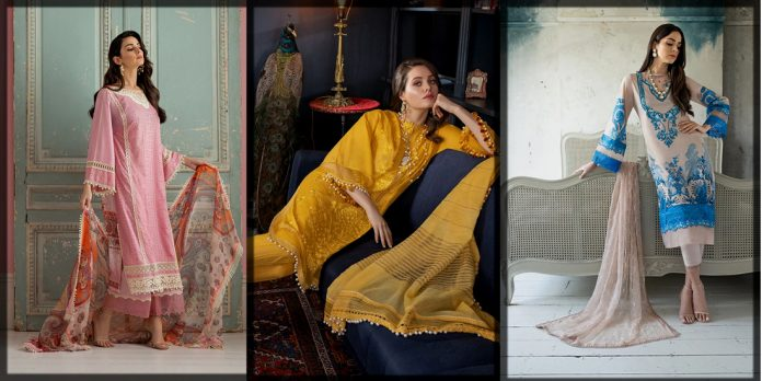 Colorful and Vibrant Sobia Nazir Unstitched Summer Collection