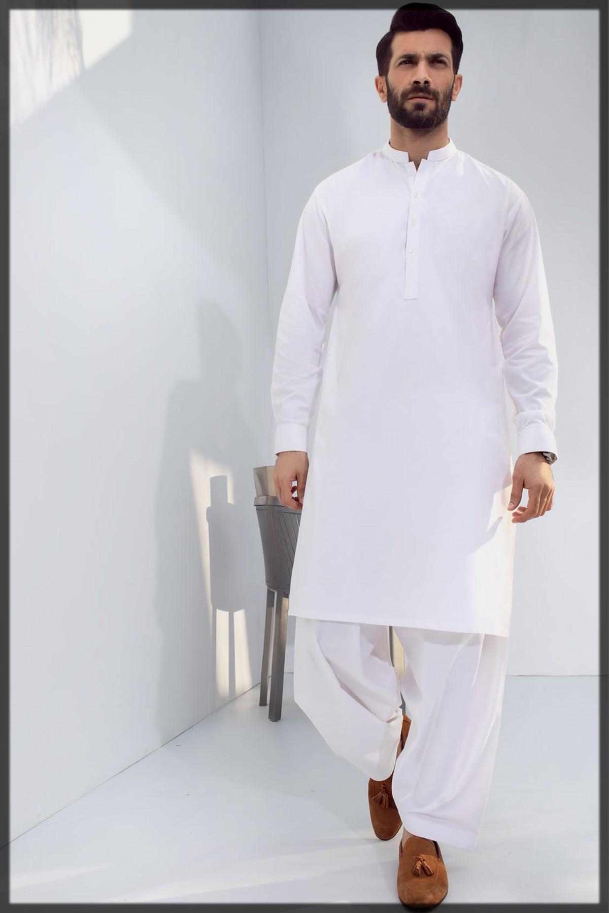 Dyed Cotton Shalwar Kameez