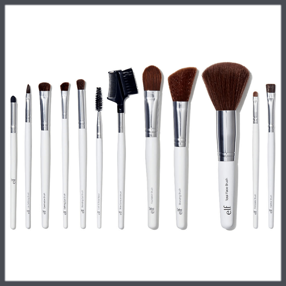 E.L.F Brushes collection latest