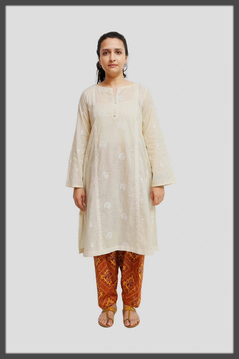 Embroidered 2-Piece for women
