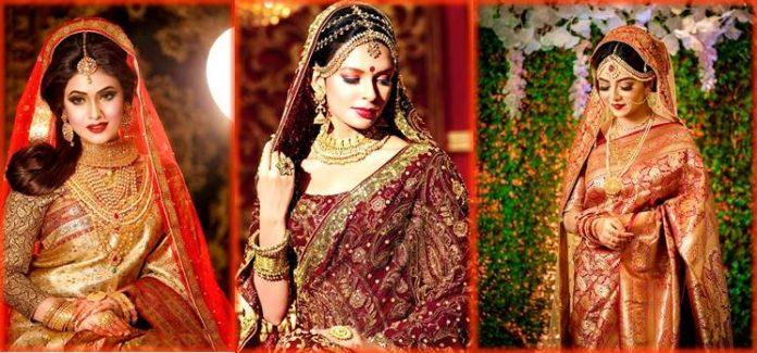 Indian Bridal Sari Designs