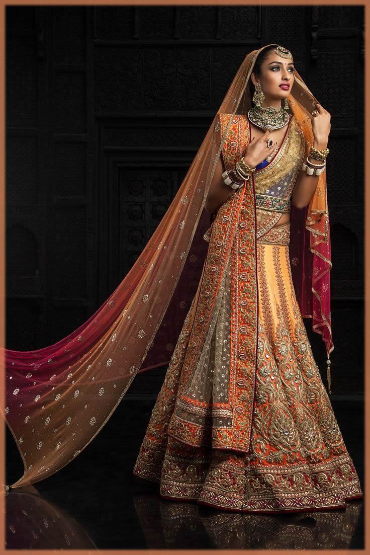 Fancy Indian Bridal Sari