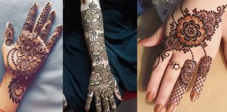 Lovely Floral Mehndi Designs 2021 with Pictures [Latest Mehndi Collection]
