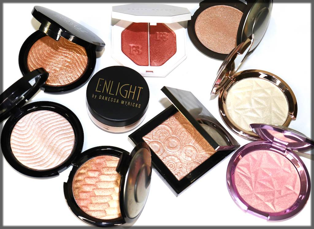Highlighters for dark skin tone