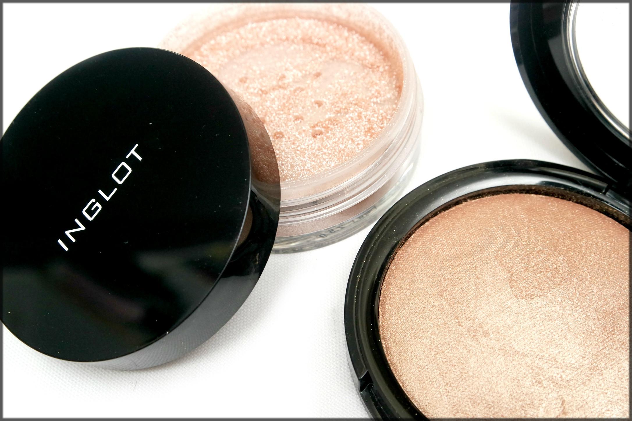 Inglot Powder highlighter for all skin tones