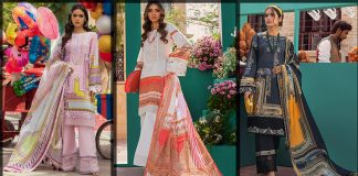 Threads and Motifs Lawn Collection 2021 for Summers with Price