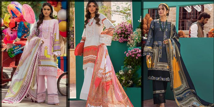 Latest Threads and Motifs Lawn Collection for women and young girls