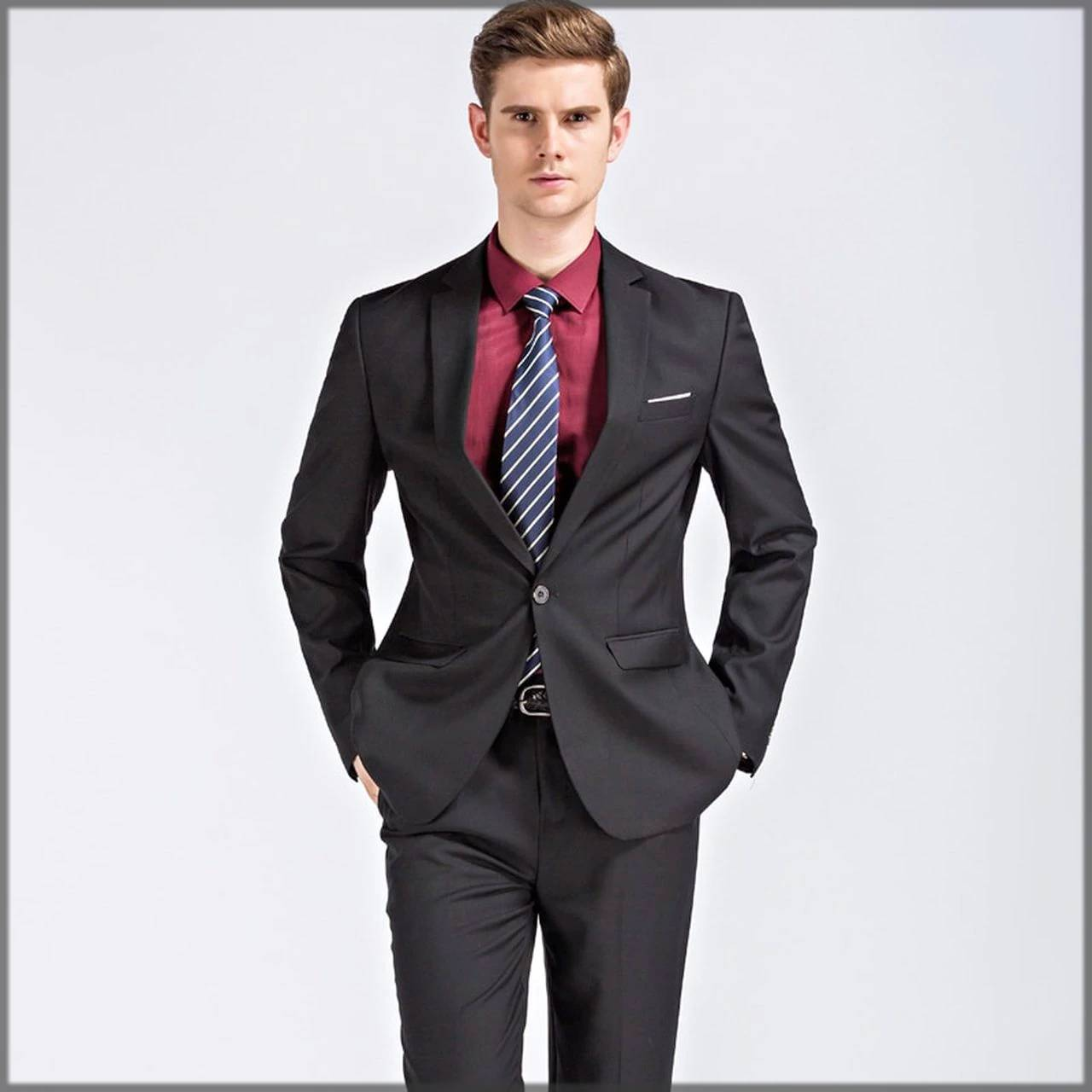 Matt Black Walima Outfit