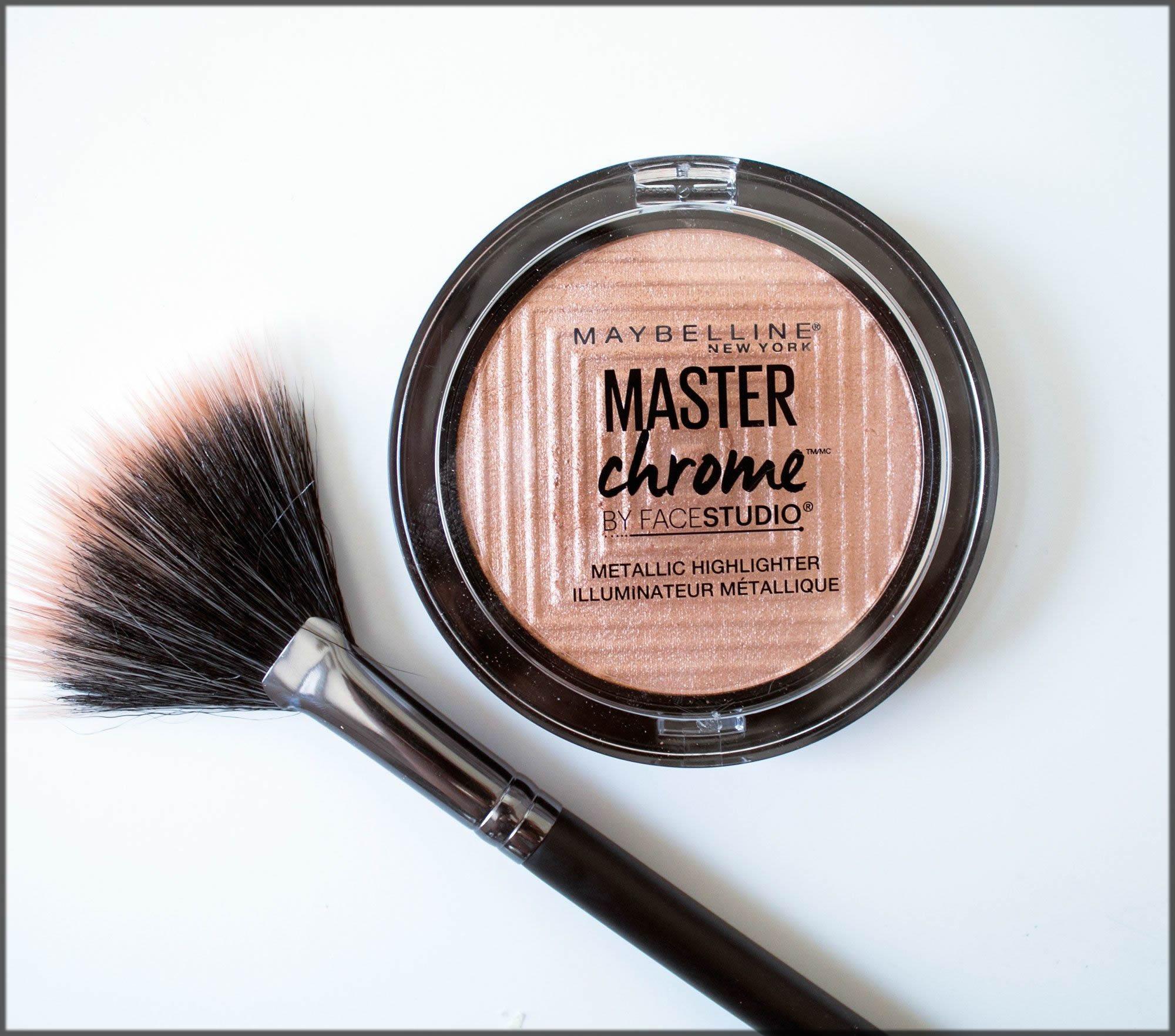 Metallic Highlighter For Medium Skin