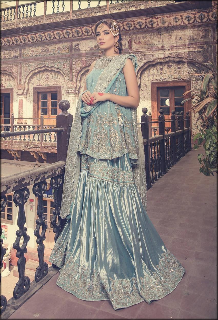 Padua Color Maria B Bridal Dress