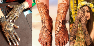 Peacock Mehndi Designs 2021 for Hands and Feet with Pictures