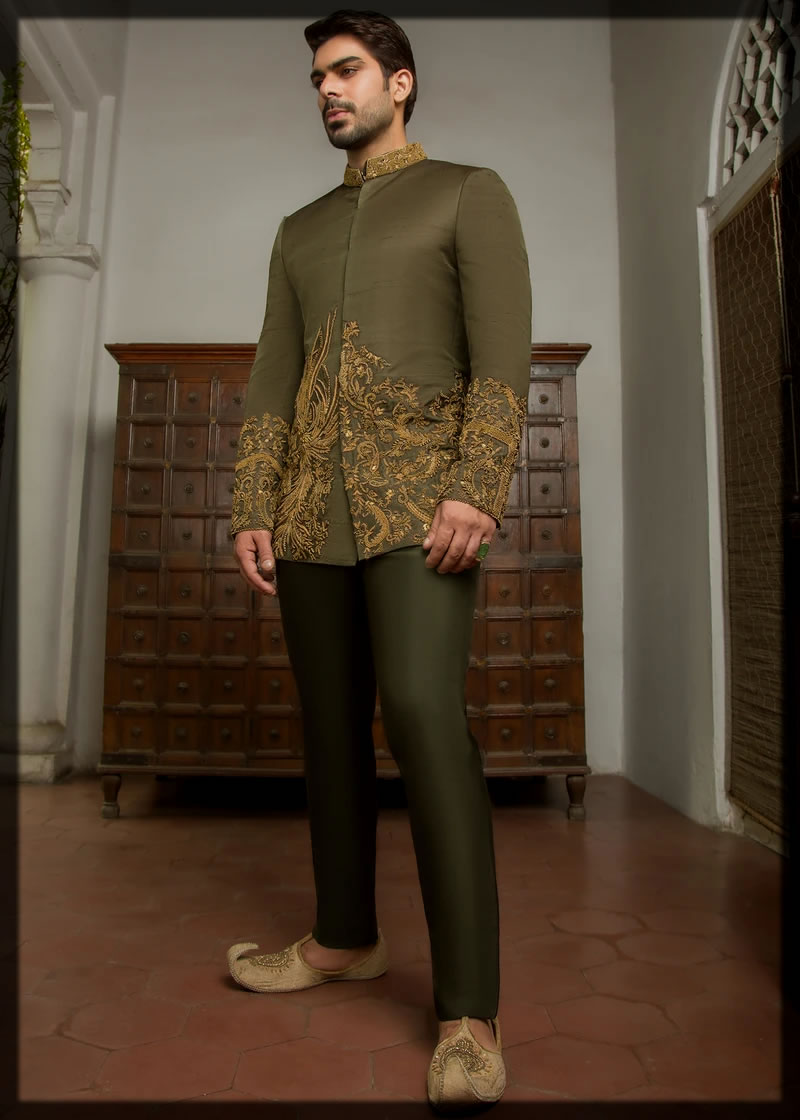 Sherwani Suit Style for groom