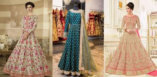 Stylish Indian Anarkali Frocks Collection 2021 [Anarkali Frock Designs]