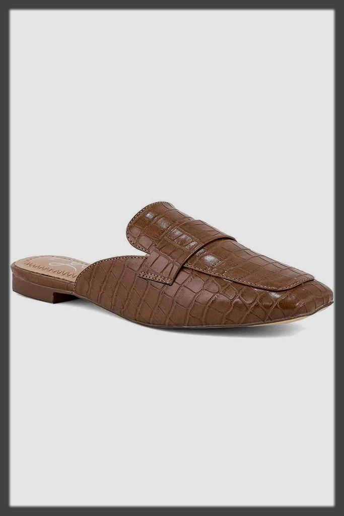 appealing back open summer shoes