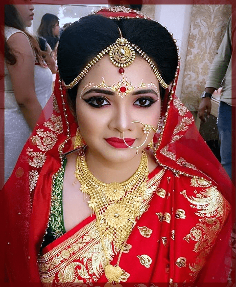 appealing indain bridal makeup
