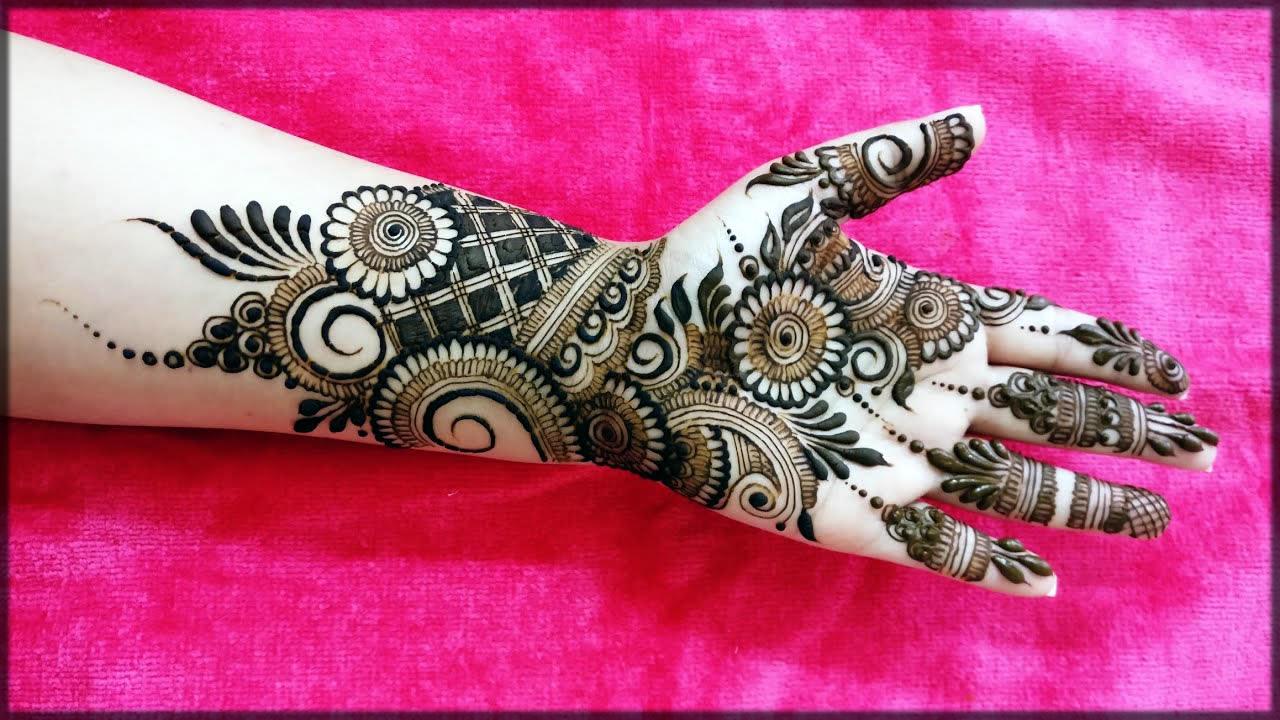 arabic black mehndi designs