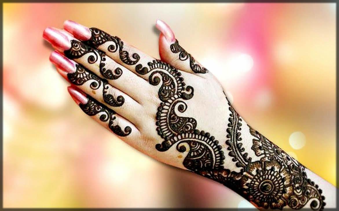 bail mehndi designs for hands