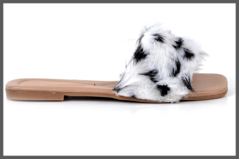 black and white fur slides