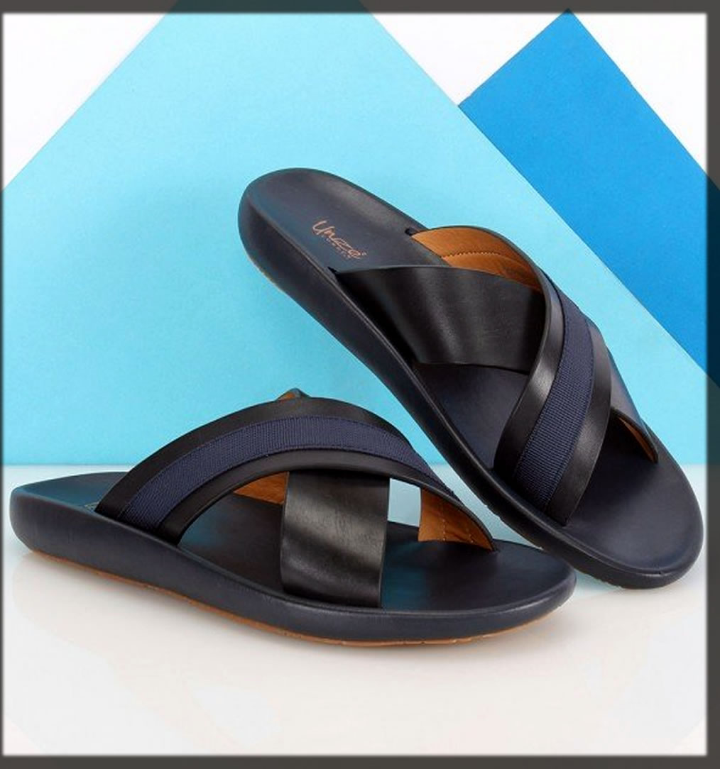 black classy summer slippers collection