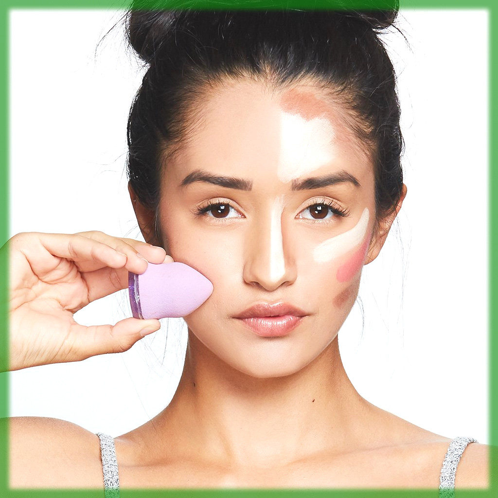 blending makeup to make your nose look thinner with makeup