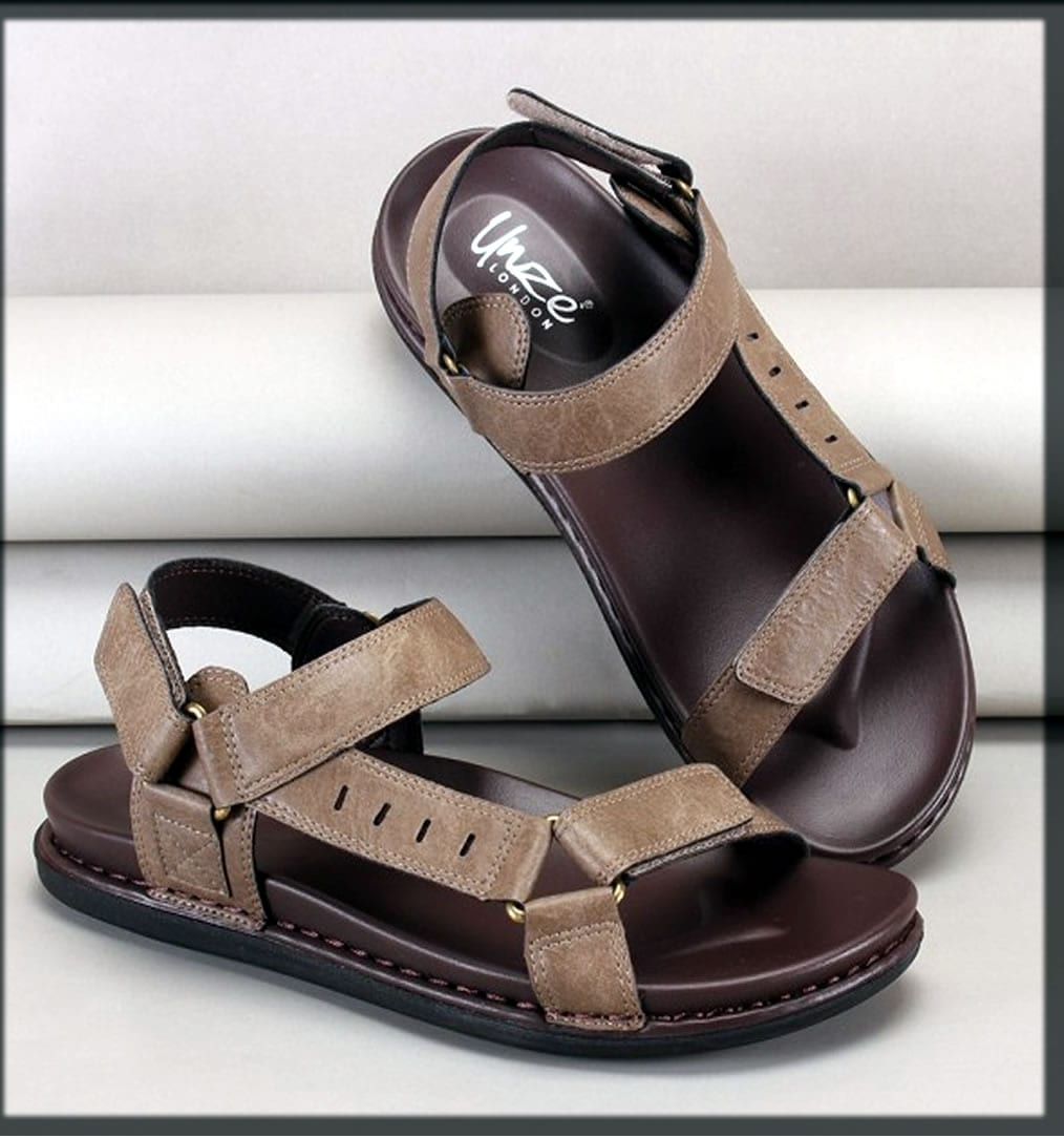 brown leather summer shoes