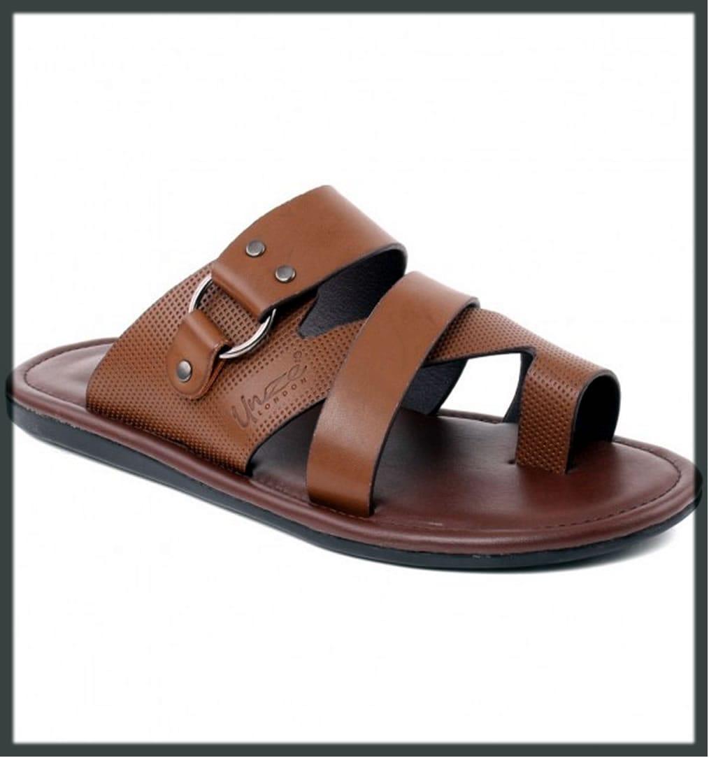 brown summer casaul slippers
