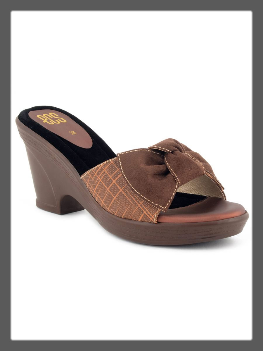 brown wedges for women