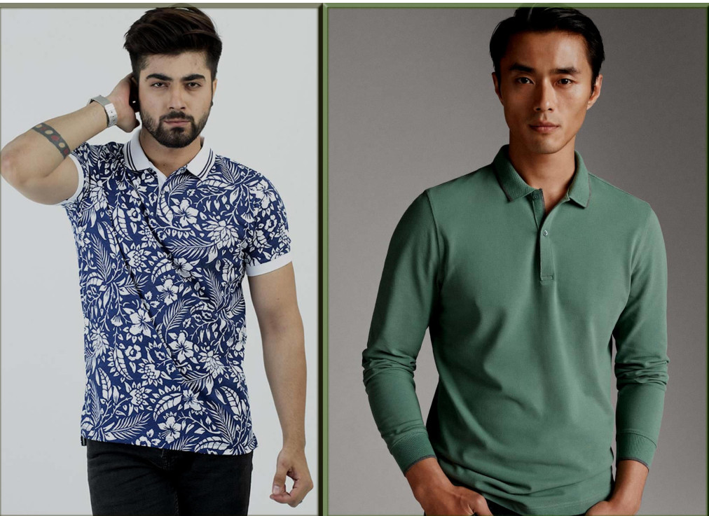 casual wear polo shirts