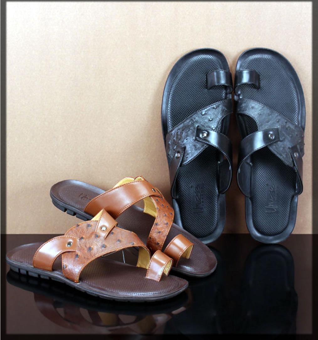 chic unze summer shoes for men