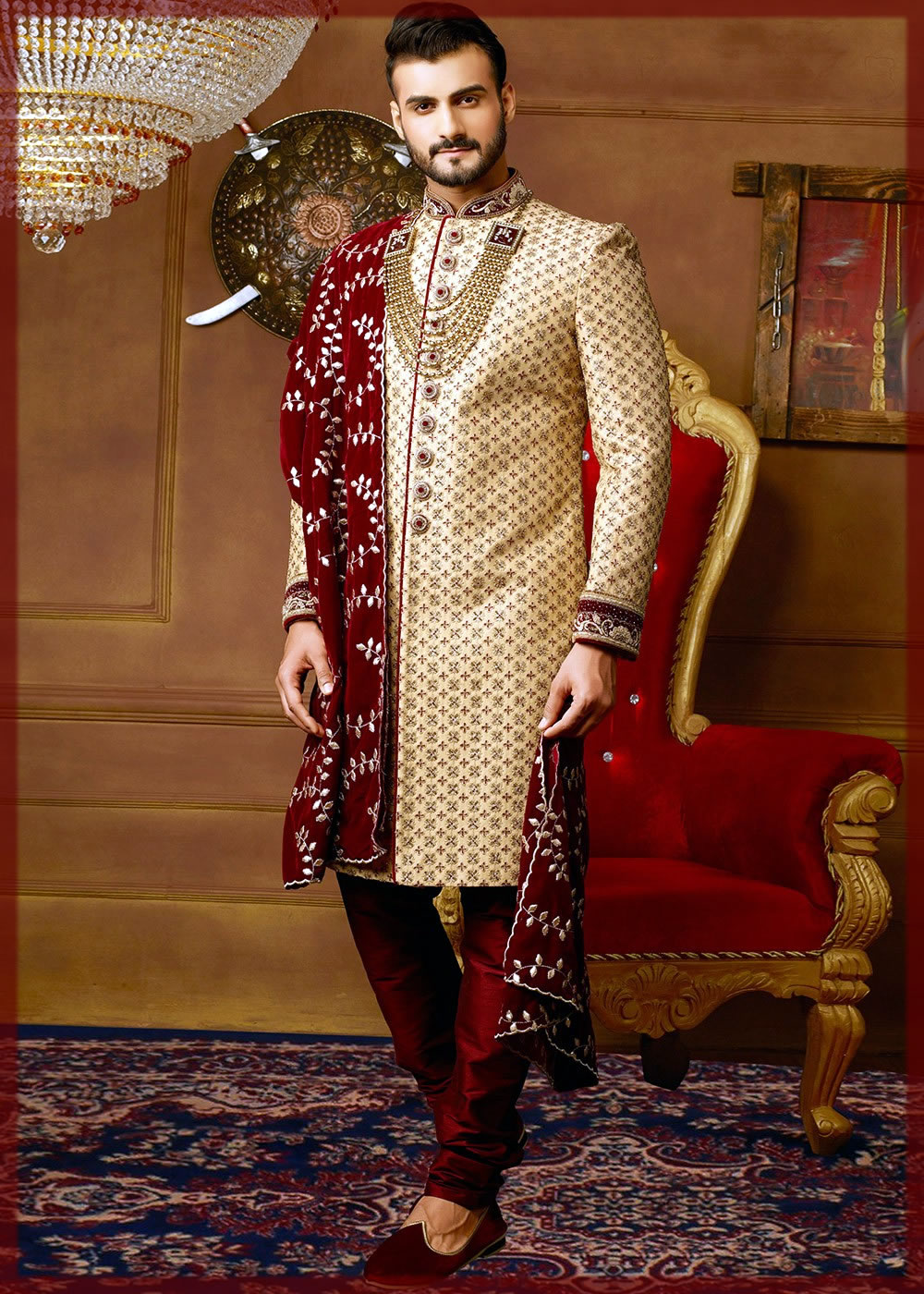 classic Barat Dresses For Groom