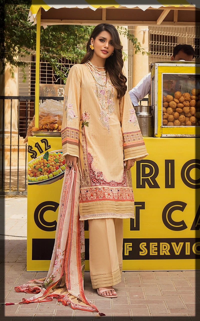 classical Threads and Motifs 3PC Lawn Collection